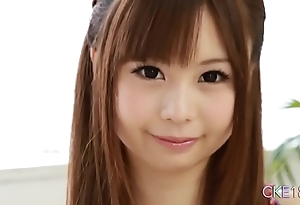 Unquestionable japanese legal age teenager unaccompanied berating rag increased by sex tool play