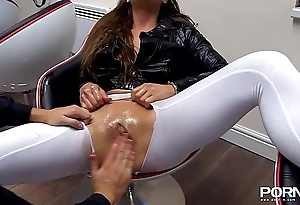 Fisting added to squirting cathy vault of heaven
