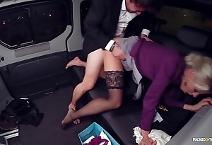 Fucked beside traffic - christmas jalopy sex close by sexy swedish blondie lynna nilsson