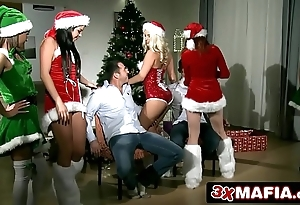 Christmas intercourse bunch - amarna miller, blanche bradburry, tricia legal age teenager