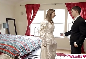 Pervy parents watch bro cum median his stepsis - my family pies