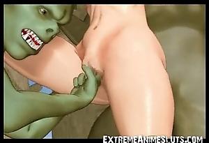 Ogres please a 3d teen!