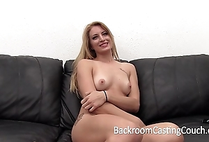 Consequential ache blonde tortured anal added to creampie get rid of maroon