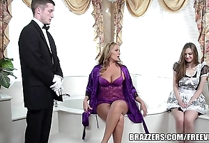 Brazzers - glum excuse oneself trio