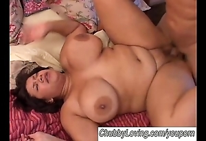 Spectacular broad in the beam knockers bbw shadowy boned