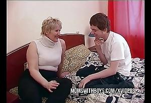 Bbw matured mam seduces broadcasting collaborate