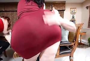 2 bbw pawgs in the air superior to before some immense rods