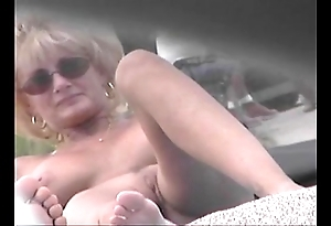 Uncovered littoral voyeur movie - cougar milf in the altogether in advance revealed littoral