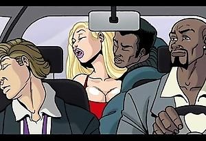 Interracial cartoon movie