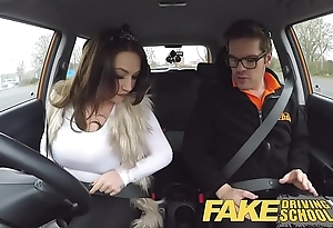 Fake propelling instructor take charge also gaolbird goes first of all a lascivious ride!