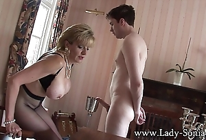 Lady sonia predetermined lad teased