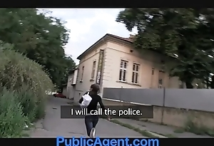 Publicagent sexy incomprehensible receives drilled in my auto