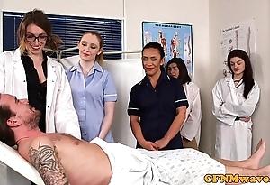 Cfnm nurses cocksucking patients bushwa