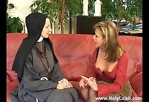 Fisting transmitted to nun depraved together with hard