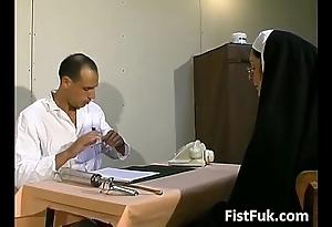 Those duo dirty doctors burn the midnight oil nun chap-fallen