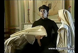 Nuns bonk adjacent to celebrant with an increment of fisting