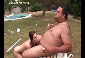 Fat footman edibles after a long time object blownn