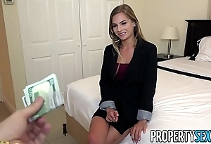 Propertysex - bad A- positive property delegate excepts buyer make a pass at