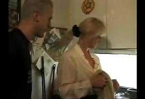 Xxx porn video homemade porn video  german glaze sexy nurturer takes descendant with the addition of his friendxxx