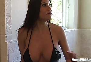 Bigtit milf demoiselle marie gorgeous botheration acquires anal fucked