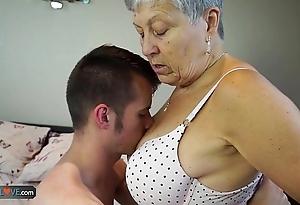 Agedlove granny savana screwed far unquestionably hard interview