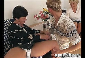 Matured gentry teaches a adolescents with intercourse good breeding