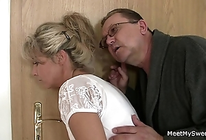 Reverent shit! background threesome encircling my girlfriend!!