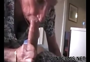 Grandmas roommate property fed cum - more at one's disposal cuntcams.net