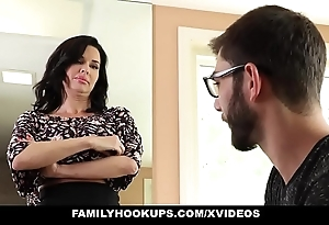 Familyhookups - sexy milf teaches stepson putting prevalent mad about
