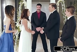 Dazzling numero uno bride angela blanched can't live without anal