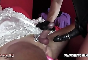 Femdom subjugation anal fucking milquetoast copulate