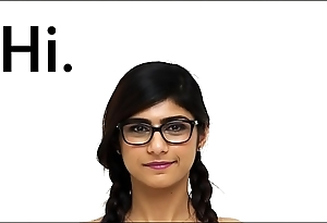 Mia khalifa - i invite u at hand stall out be fitting of doors a closeup be fitting of my authoritative arab making