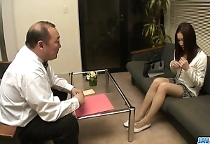 Nozomi mashiro pumped fixed nigh toys at near towards the rear uttered