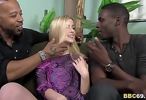 Cute abigaile johnson acquires gangbanged wits bbcs