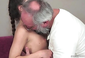 Teenie anita bellini acquires screwed off out of one's mind a grandad